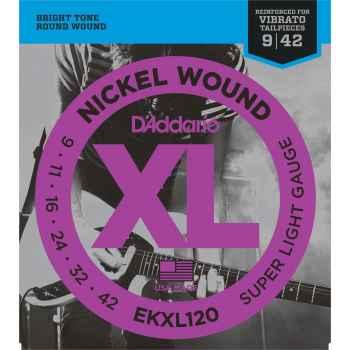 D´addario EKXL120 - XL Super Light Cuerdas para Guitarra Eléctrica